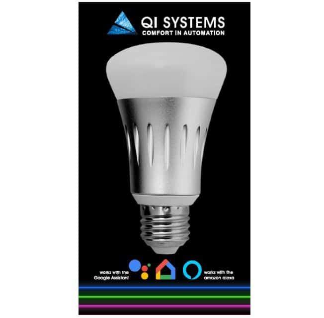 Qi Systems Smart Light Bulb