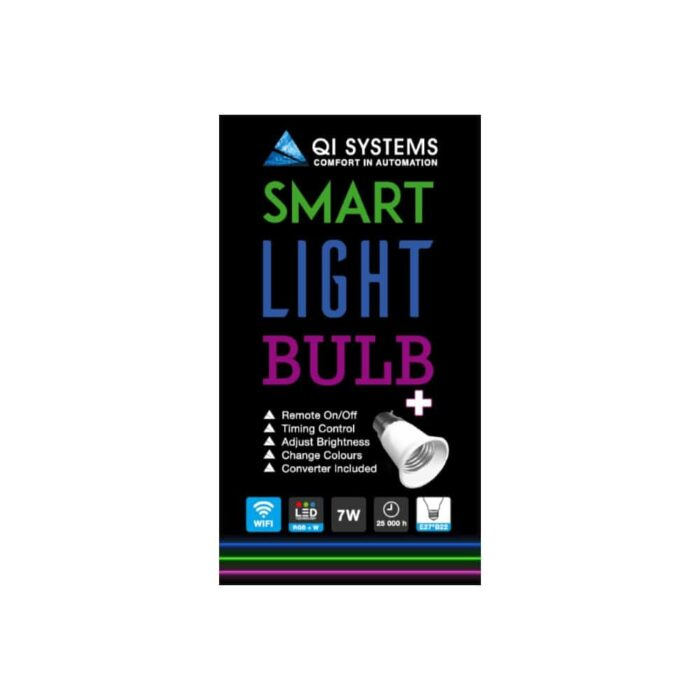 Smart Light Bulb Side
