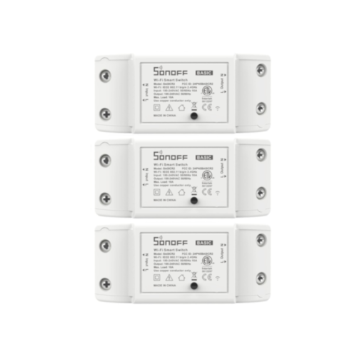 sonoff basicR2 3 pack qisystems