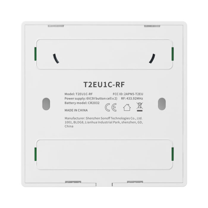 sonoff t2eu wall switch back qisystems